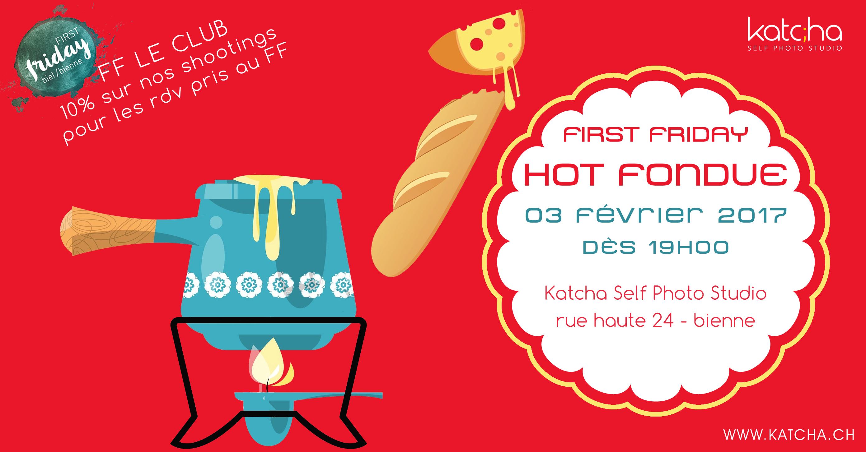 HOT FONDUE - First Friday février 2017